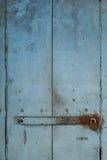 Tür mit Verschluss Lizenzfreies Stockfoto