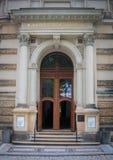 Tür, Nymphenbad, Zwinger-Palast, Dresden Lizenzfreies Stockfoto