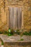 Tür in Oprtalj stockbilder