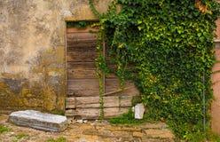 Tür in Oprtalj lizenzfreies stockfoto