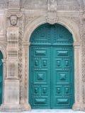 Tür in Salvador (Brasilien) lizenzfreies stockbild