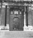 Tür in Schwarzweiss Stockbilder