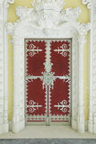 Tür in sintra Palast Lizenzfreies Stockfoto