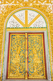 Tür am Tempel Lizenzfreie Stockfotografie