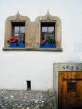 Tür und Fenster lizenzfreie stockfotografie