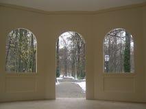 Tür und Fenster Stockfoto