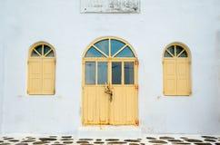 Tür und Fenster Lizenzfreies Stockfoto