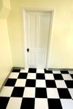 Tür und Fußboden stockbild