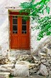 Tür und Treppen Stockfotografie