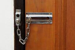 Tür und Verriegelung Stockbilder