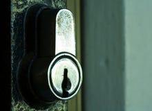 Tür-Verriegelung Stockfotografie