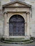 Tür von Provence, Frankreich Stockfotografie