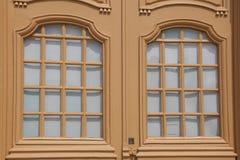 Tür von St- Germainabtei, Auxerre Stockfoto