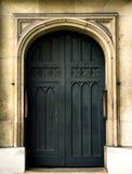 Tür von St- Margaret` s Kirchen-Westminster Abbey Lizenzfreie Stockfotos