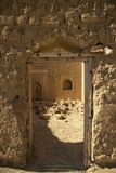 Tür zu den Ruinen Lizenzfreie Stockbilder