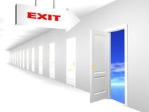 Tür zu den Träumen Stockbilder