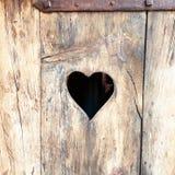 Tür zu meinem Herzen Lizenzfreies Stockfoto
