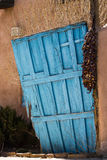 Tür zu Santa Fe Stockfotos