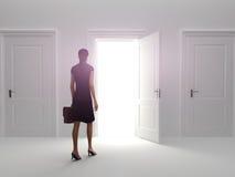 Tür zum Erfolg Lizenzfreie Stockfotografie