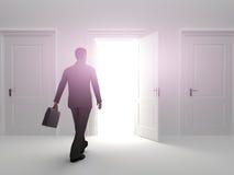 Tür zum Erfolg Stockbild