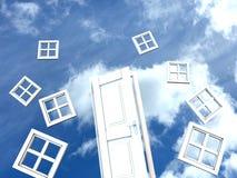 Tür zum Himmel Lizenzfreies Stockfoto