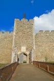 Tür zum Schloss lizenzfreie stockfotos