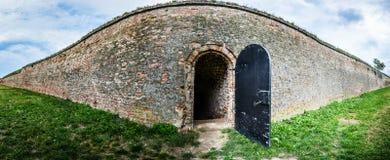 Tür zum Unbekannten Stockbild