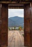 Tür zur Natur Lizenzfreies Stockbild