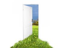 Tür zur neuen Welt Lizenzfreies Stockbild