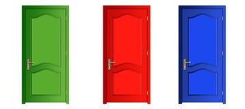 Türen Lizenzfreie Stockfotos