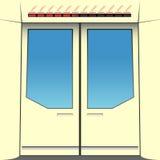 Türen der Untergrundbahn Lizenzfreie Stockbilder