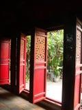 Türen des Tempels Stockfoto