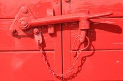 Türen gesperrt lizenzfreie stockbilder