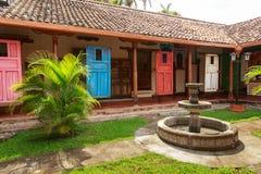 Türen in Granada, Nicaragua Lizenzfreie Stockbilder
