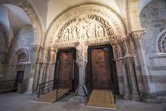 Türen innerhalb Basilca Stockfotografie