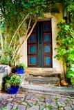 Türen in Meissen Stockfotos