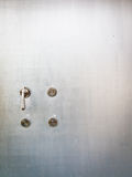 Türen und Türknopf stockbilder
