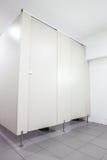 Türen von den Toiletten Stockbild