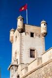 Türen von Erde von Cadiz, Spanien Stockfotos