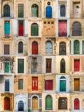 Türen von Malta Lizenzfreie Stockbilder