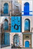 Türen von Tunesien Stockbild