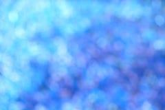 Türkis-Blau Bokeh-Hintergrund Lizenzfreies Stockfoto