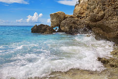 Türkis Curaçao lizenzfreies stockbild