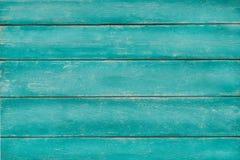 Türkis-Grünhintergrund der Weinlese hölzerner Stockbilder