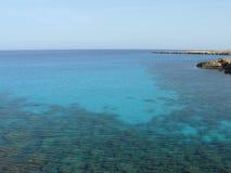 Türkis-Meer - Zypern Stockbild