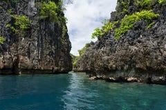 Türkis-tropisches Paradies-Strand-Ozean-Meer Crystal Water Clear lizenzfreie stockfotos