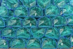 Türkis- und Blaukäfighintergrund - fischen Sie trab auf Insel von Mull, schottische Hochländer, Schottland lizenzfreie stockbilder