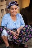Türkische ältere Frau stockbilder