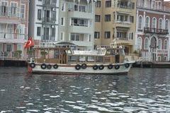 Türkische Ansicht über Bosporus Stockfotos
