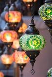 Türkische Art-Lampen Lizenzfreie Stockfotos